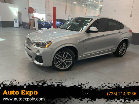 2016 BMW X4 for sale at Auto Expo in Las Vegas NV