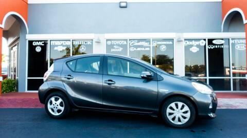 2013 Toyota Prius c for sale at Car Depot in Miramar FL