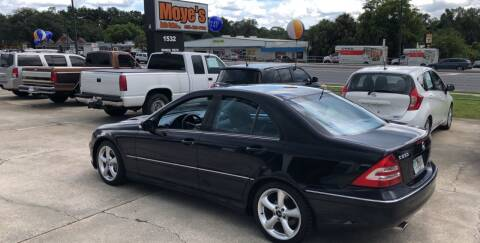2006 Mercedes-Benz C-Class for sale at Moye's Auto Sales Inc. in Leesburg FL