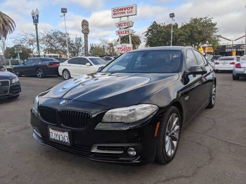 2015 BMW 5 Series for sale at Convoy Motors LLC in National City CA