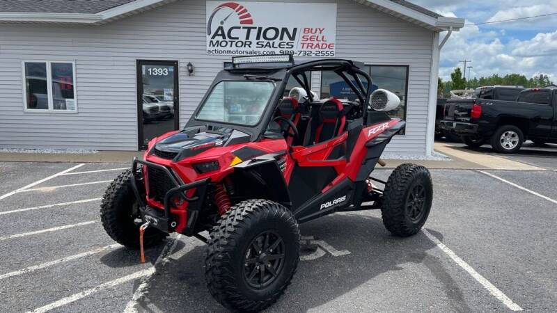 2018 Polaris RZR for sale at Action Motor Sales in Gaylord MI