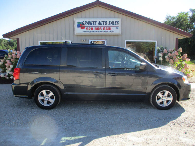 2013 Dodge Grand Caravan for sale at Granite Auto Sales in Redgranite WI