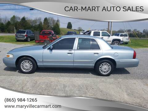2008 Mercury Grand Marquis for sale at CAR-MART AUTO SALES in Maryville TN