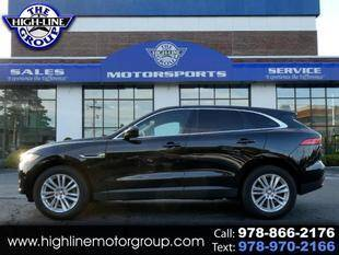 2020 Jaguar F-PACE for sale at Highline Group Motorsports in Lowell MA