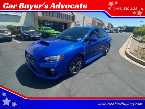 2017 Subaru WRX for sale at Car Buyer's Advocate in Phoenix AZ