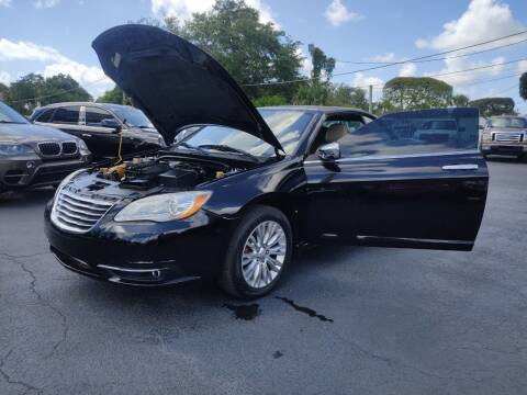 2011 Chrysler 200 Convertible for sale at Bargain Auto Sales in West Palm Beach FL