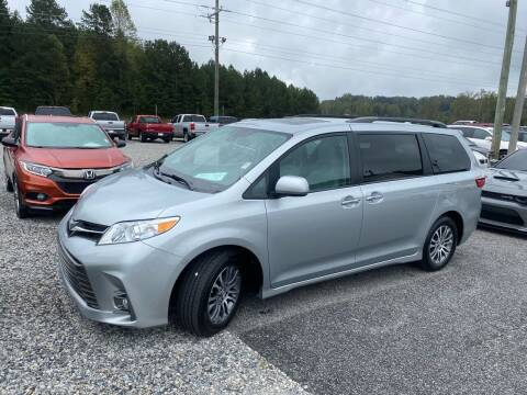 2020 Toyota Sienna for sale at Billy Ballew Motorsports in Dawsonville GA