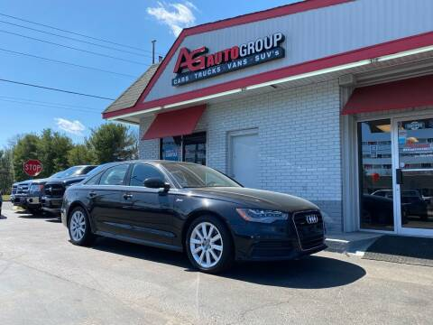 2012 Audi A6 for sale at AG AUTOGROUP in Vineland NJ