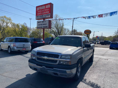 2005 Chevrolet Silverado 1500 for sale at Parkside Auto Sales & Service in Pekin IL