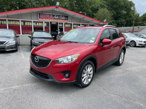 2014 Mazda CX-5 for sale at Mira Auto Sales in Raleigh NC