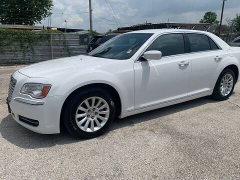 2013 Chrysler 300 for sale at FAIR DEAL AUTO SALES INC in Houston TX