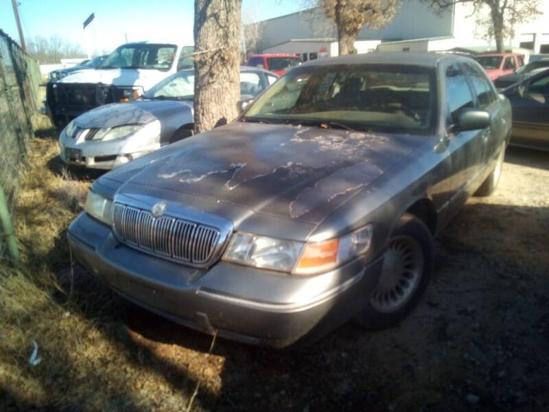 2000 Mercury Grand Marquis for sale at KK Motors Inc in Graham TX