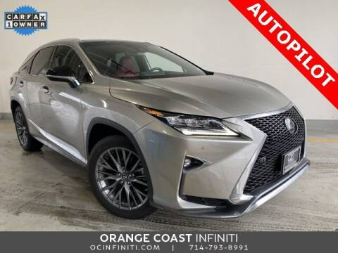 2017 Lexus RX 350 for sale at ORANGE COAST CARS in Westminster CA
