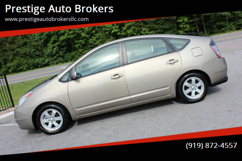 2005 Toyota Prius for sale at Prestige Auto Brokers in Raleigh NC