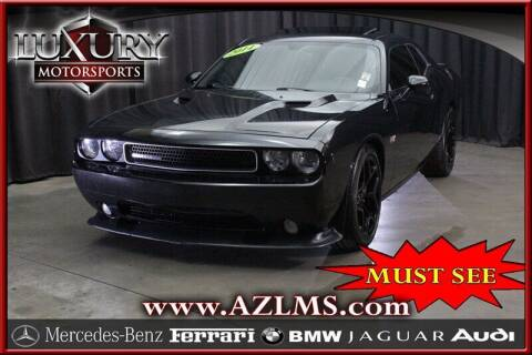 2014 Dodge Challenger for sale at Luxury Motorsports in Phoenix AZ