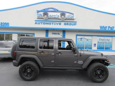 2016 Jeep Wrangler Unlimited for sale at The Wholesale Outlet in Blackwood NJ
