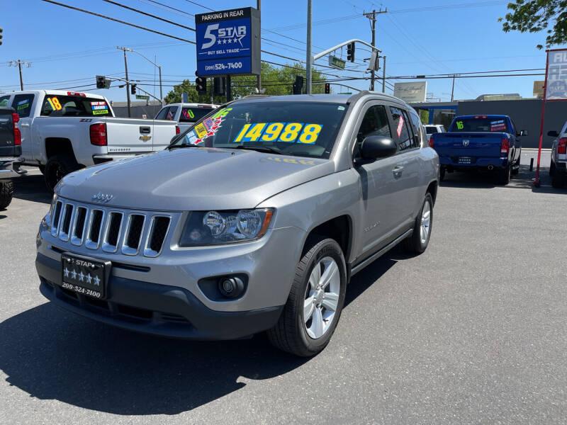 2016 Jeep Compass for sale at 5 Star Auto Sales in Modesto CA