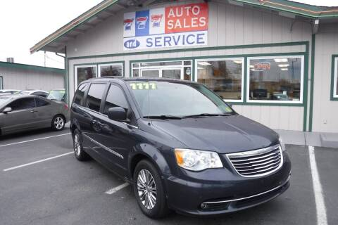 2014 Chrysler Town and Country for sale at 777 Auto Sales and Service in Tacoma WA