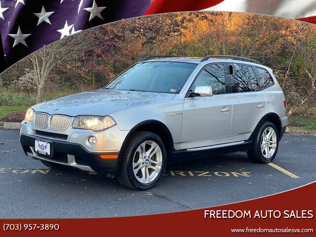 2008 BMW X3 for sale at Freedom Auto Sales in Chantilly VA