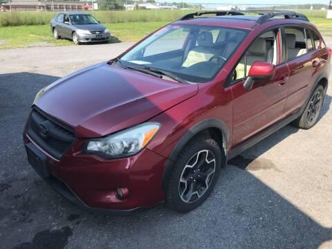 2013 Subaru XV Crosstrek for sale at RJD Enterprize Auto Sales in Scotia NY