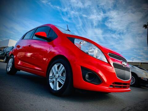 2014 Chevrolet Spark for sale at GALAXY MOTORS in Tucson AZ