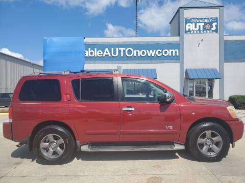 2005 Nissan Armada for sale at Affordable Autos in Houma LA
