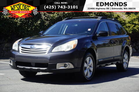 2011 Subaru Outback for sale at West Coast Auto Works in Edmonds WA