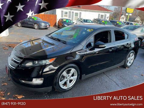 2013 Chevrolet Volt for sale at Liberty Auto Sales in Elgin IL