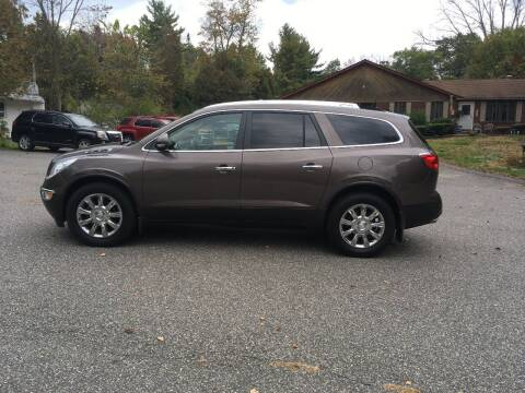 2012 Buick Enclave for sale at Lou Rivers Used Cars in Palmer MA