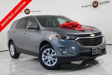 2018 Chevrolet Equinox for sale at INDY'S UNLIMITED MOTORS - UNLIMITED MOTORS in Westfield IN