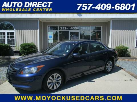 2011 Honda Accord for sale at Auto Direct Wholesale Center in Moyock NC