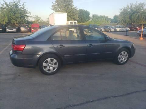 2009 Hyundai Sonata for sale at El Jasho Motors in Grand Prairie TX