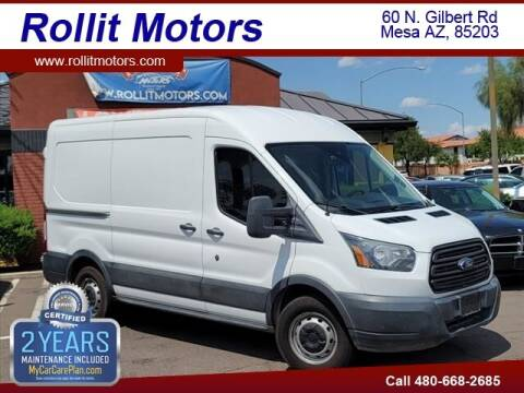 2016 Ford Transit Cargo for sale at Rollit Motors in Mesa AZ