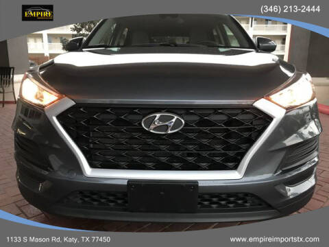 2019 Hyundai Tucson for sale at EMPIREIMPORTSTX.COM in Katy TX