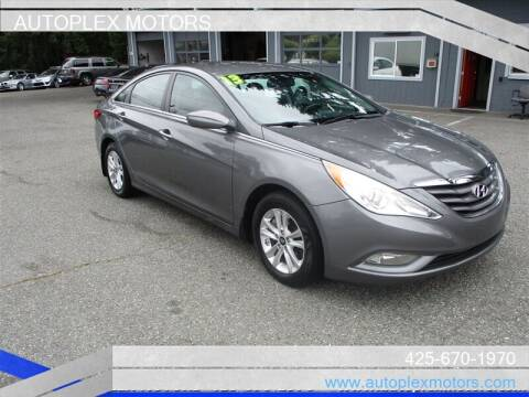 2013 Hyundai Sonata for sale at Autoplex Motors in Lynnwood WA