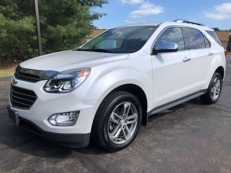 2016 Chevrolet Equinox for sale at Branford Auto Center in Branford CT
