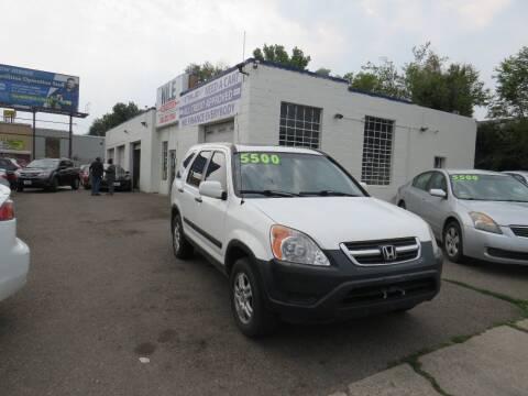 2004 Honda CR-V for sale at Nile Auto Sales in Denver CO