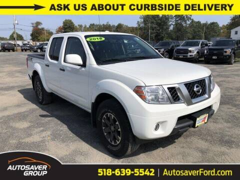 2018 Nissan Frontier for sale at Autosaver Ford in Comstock NY