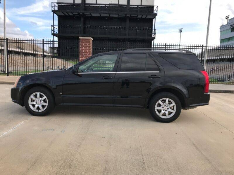 2008 Cadillac SRX for sale at ALL AMERICAN FINANCE AND AUTO in Houston TX