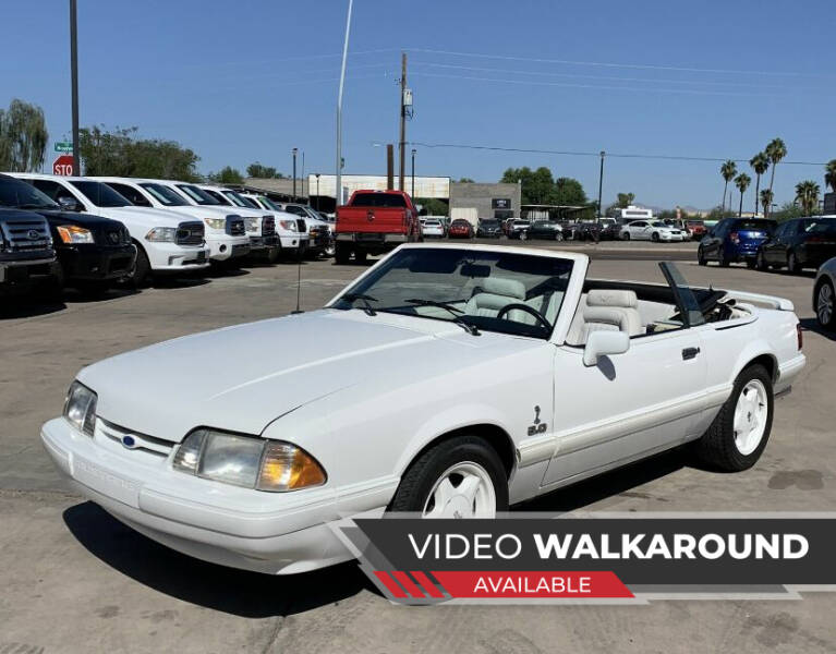 1993 Ford Mustang for sale at Eastclusive Motors LLC in Hasbrouck Heights NJ