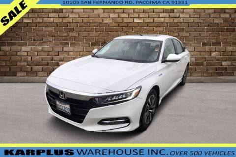 2018 Honda Accord Hybrid for sale at Karplus Warehouse in Pacoima CA
