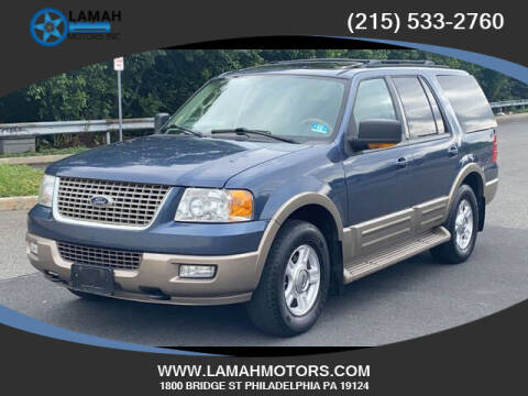 2004 Ford Expedition for sale at LAMAH MOTORS INC in Philadelphia PA