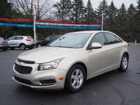 2016 Chevrolet Cruze Limited for sale at Patriot Motors in Cortland OH