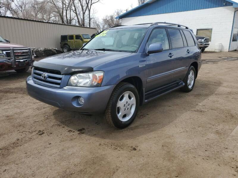 2004 Toyota Highlander for sale at HORSEPOWER AUTO BROKERS in Fort Collins CO