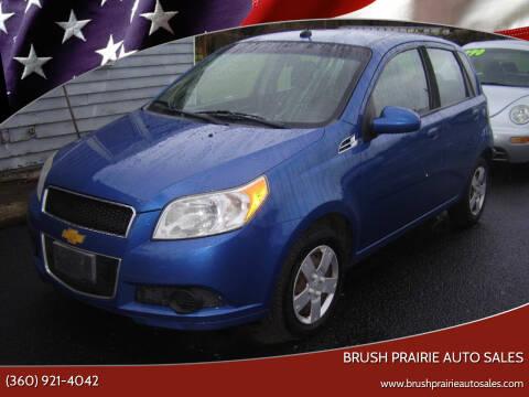2011 Chevrolet Aveo for sale at Brush Prairie Auto Sales in Battle Ground WA