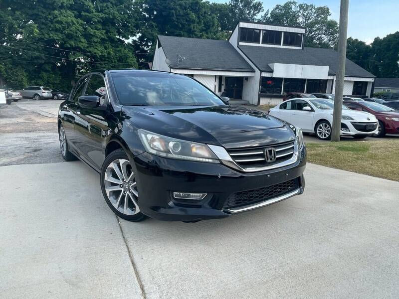 2013 Honda Accord for sale at Alpha Car Land LLC in Snellville GA