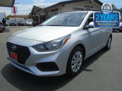 2018 Hyundai Accent for sale at Centre City Motors in Escondido CA