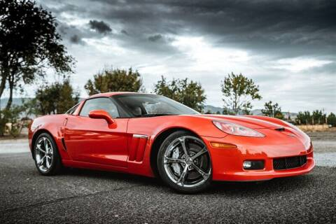 2011 Chevrolet Corvette for sale at MUSCLE MOTORS AUTO SALES INC in Reno NV