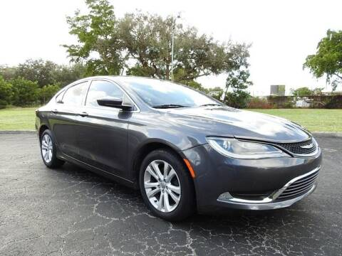 2015 Chrysler 200 for sale at SUPER DEAL MOTORS 441 in Hollywood FL