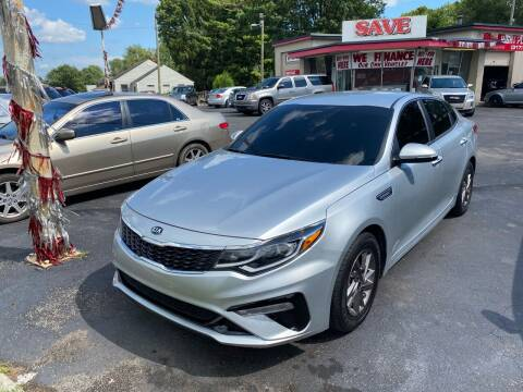 2019 Kia Optima for sale at Right Place Auto Sales in Indianapolis IN